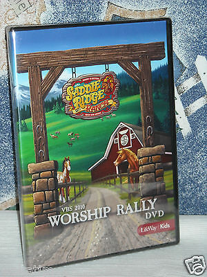 Worship Rally Vacation Bible School DVD'S Lifeway Kids New VBS