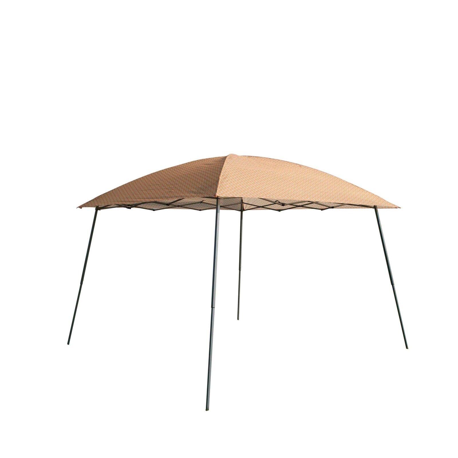 EZ Pop-Up Canopy 10'x10' Party Tent Outdoor Garden Sun Shade