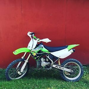 2003 kx100 2 stroke in excellent condition