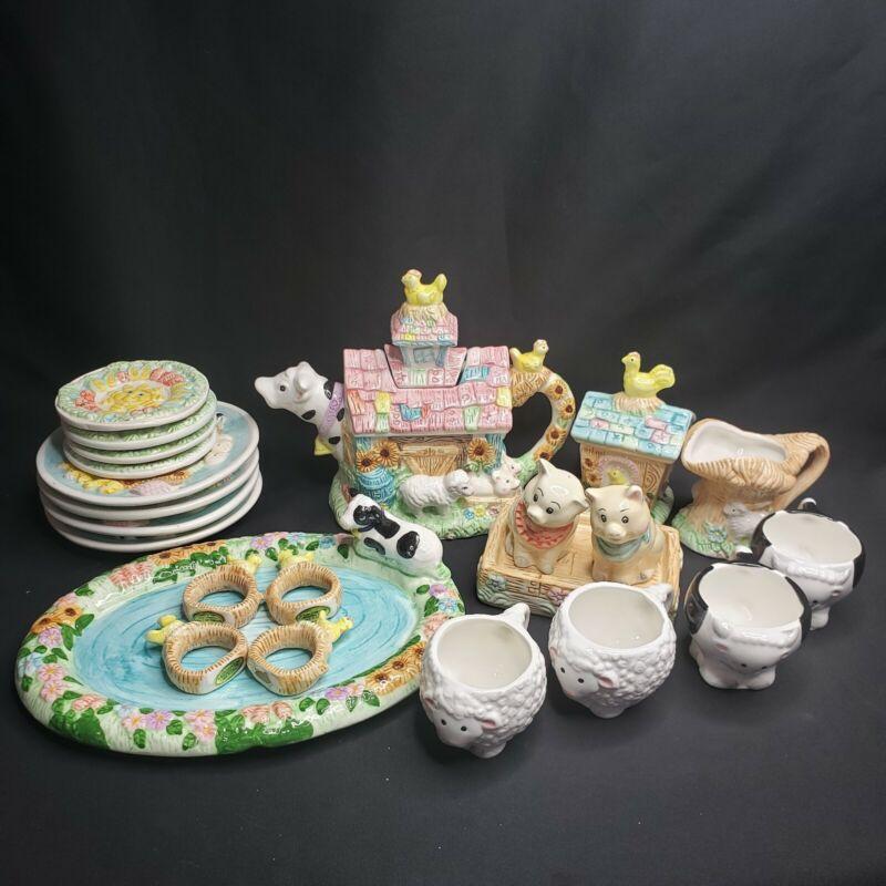 Mercuries Country Farm Ceramic Children