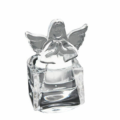 Portavelas de Cristal O Sagrado Agua Fuente - Ángel