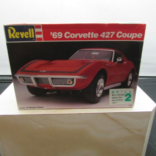 '69 Corvette 427 Coupe Model Kit LR