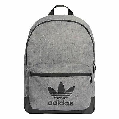 Adidas Originals Classic Melange Backpack School Work Rucksack Bag ED8686 Grey