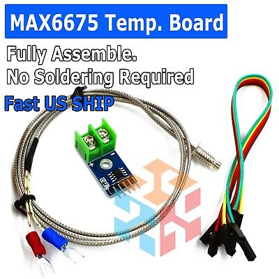 Max6675 Module Board K Type Thermocouple Temperature Sensor For Arduino
