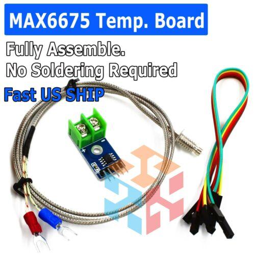 MAX6675 Module Board + K Type Thermocouple Temperature Sensor for Arduino