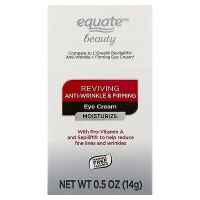 Equate Beauty Reviving Anti-Wrinkle & Firming Moisturizer Eye Cream