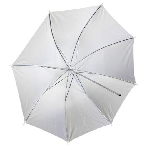 "43"" Soft White Translucent Umbrella Photo Studio Flash Light Lighting Diffuser"
