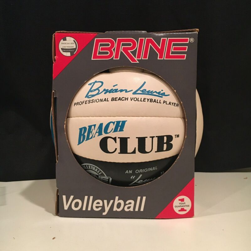 Vintage Brine Volleyball NIB