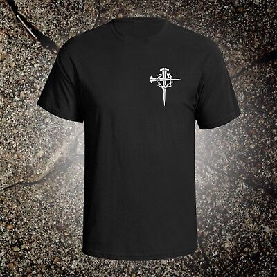 Cross With Crown Of Thorns tee shirt christian god holy bible crucifix jesus Crown Of Thorns Cross