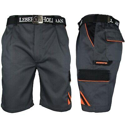 Arbeitshose Kurze Hose Kurz Bermuda Shorts Grau Schwarz Gr. S - XXXL Neu