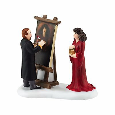 """Department 56 Dickens Village """"ROSSETTI & HIS MUSE"""" New 2016 FREE SHIPPING"""