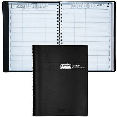 2020 HOD28202 House of Doolittle 4-Person Daily Group Practice Appointment Book 4 Person Group Practice Daily