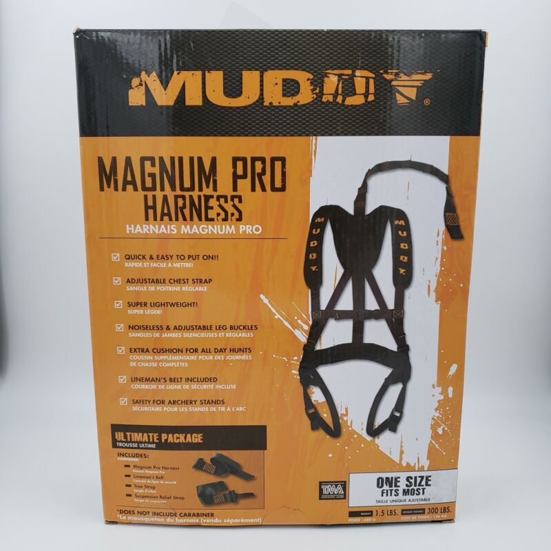 Muddy MSH110 Magnum Pro Treestand Hunting Safety Harness