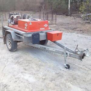 fire fighting trailer how to build