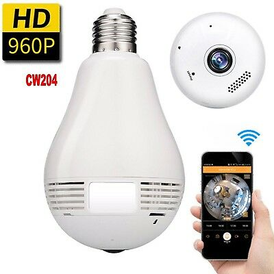 Bulb Wifi Camera Nano Micro Spy Earpiece Camcorder Concealed V380 Panoramic Micro Spy Camcorder