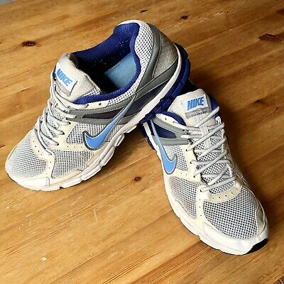 Used, Nike Zoom Structure+15 Flywire Running Shoes/Trainers UK 11. White/Blue/Sky £1NR for sale  Shipping to Nigeria