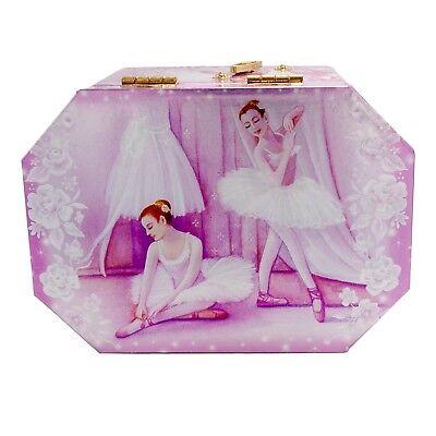 Material Box - Ballerina Jewelry Music Box - Wooden material/ Perfect gift/ Fine art/