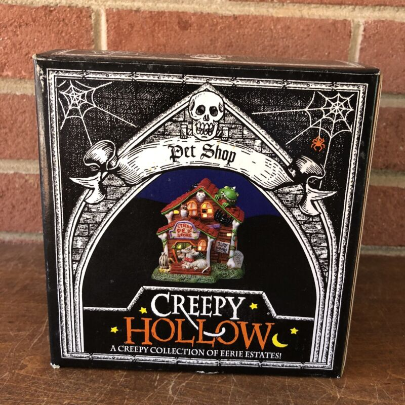 """Creepy Hollow """"Pet Shop"""" Halloween NEW Never Removed From Box"""