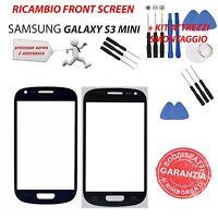 Ricambio Vetro Schermo Front Screen Nero Samsung Galaxy S3 Mini Gt-i8190 + Kit - samsung - ebay.it
