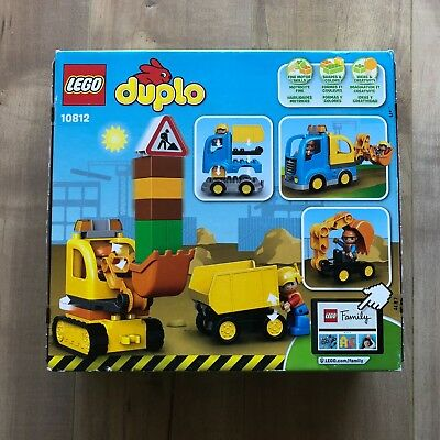 NWOT LEGO DUPLO Town Truck & Tracked Excavator 10812 Best Gift for (Best Toy Trucks For 2 Year Olds)