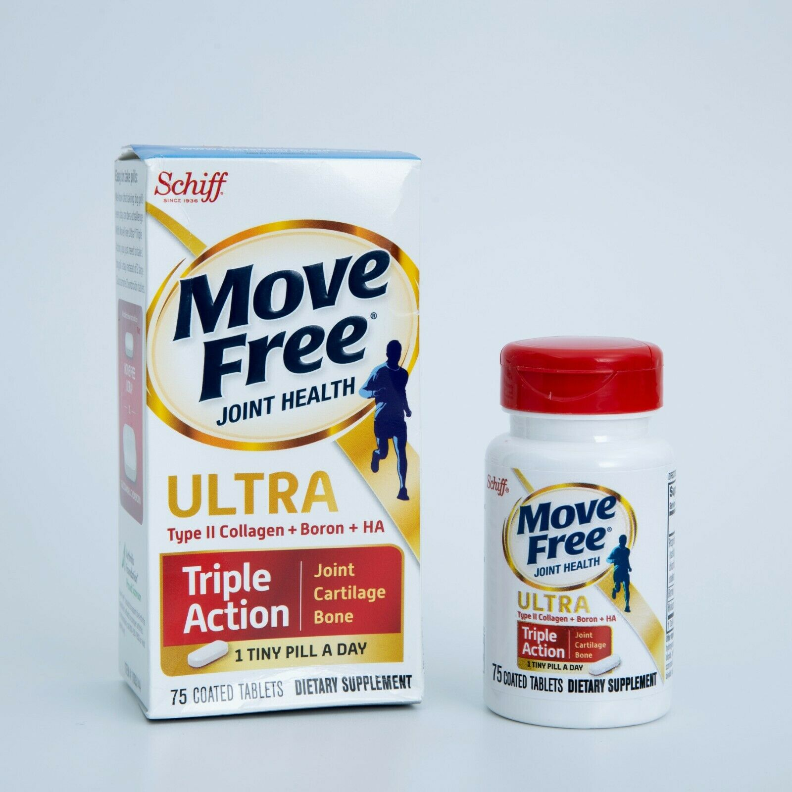 Schiff Move Free Ultra Triple Action 75 Table Exp:04/2023 Or Better