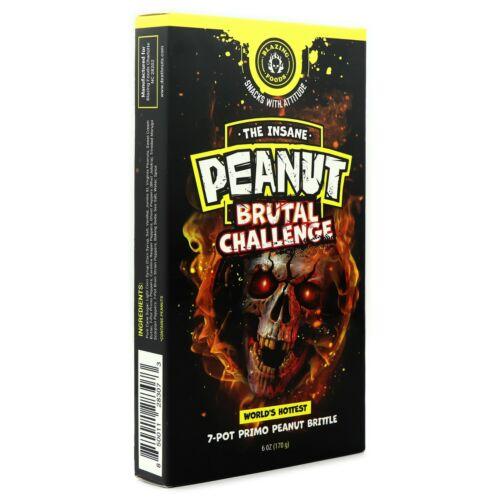 Blazing Foods | The Insane Peanut Brutal Challenge