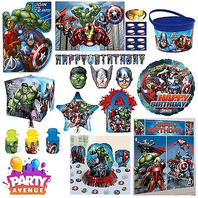 Marvel Avengers Assemble Birthday Party Accessories Decorations Tableware - Marvel Birthday Party