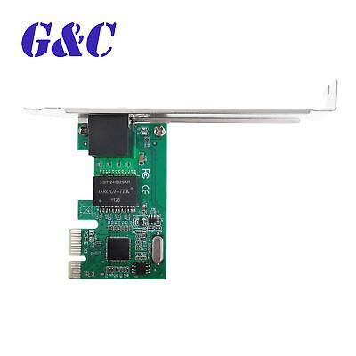 1pcs Pci-e Express 101001000m Gigabit Ethernet Lan Network Controller Card