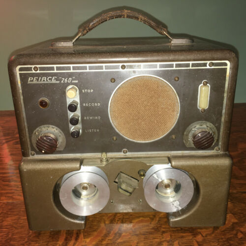 Peirce 260 Wire Player/Recorder~1947~VINTAGE