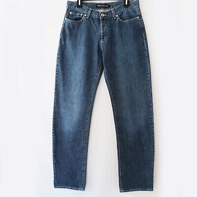 Versace Jeans Couture Button-Fly Straight Leg Jeans Size 34x48 (act. 32x34)
