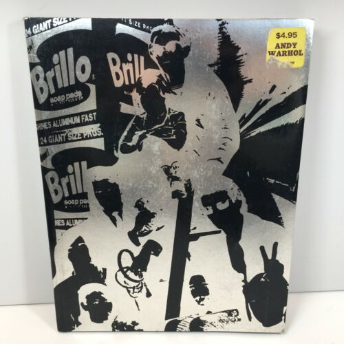 Andy Warhol 1967 Collectible Index Book With Pop Ups and Inserts
