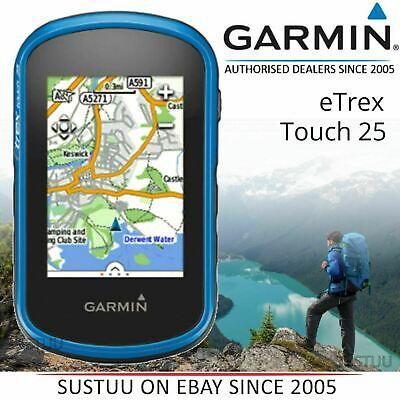 Garmin Etrex Touch 25│Outdoor Handheld GPS│Preloaded TopoActive Europe Maps