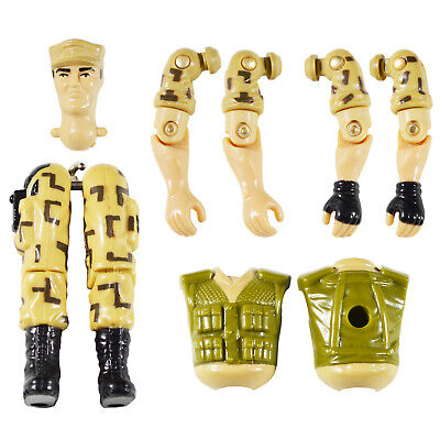 GI Joe 1988 Repeater Factory Overstock - Your Choice Individual Body Parts - Overstock Toys
