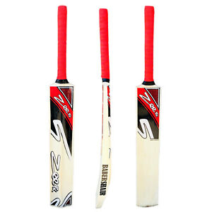 Cricket Bat Net Practice Tennis Ball Tape Ball Handcrafted Kashmir Willow RED