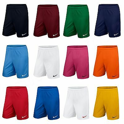 Nike Mens Shorts Park Football Training Pants Bottoms Gym Running Size S M L XL