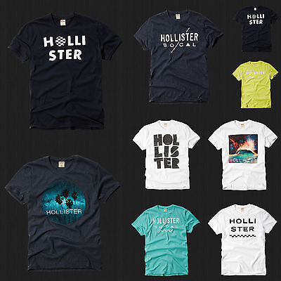 NWT HOLLISTER By Abercrombie Men Clobberstones Graphic T Shirt Tee All Size New