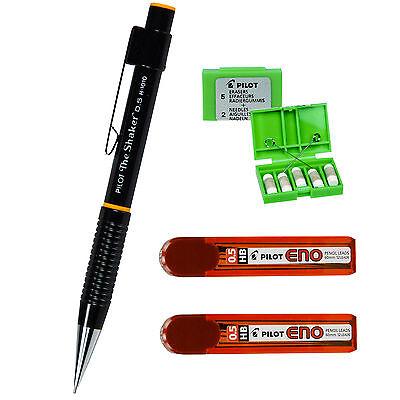 Pilot The Shaker H-1010 H1010 0.5mm Mechanical Pencil 4 Piece Set