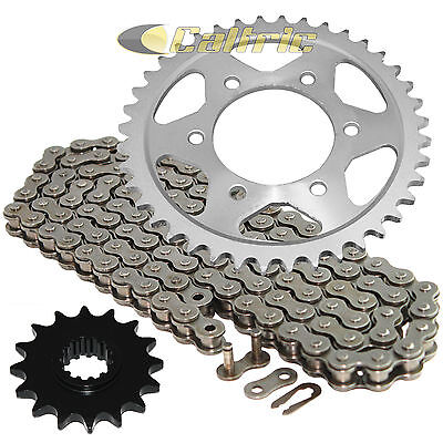 (Drive Chain and Front Rear Sprockets Kit Fits HONDA CBR600F4i 2001-2006)