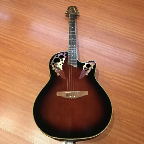 Ovation Celebrity Deluxe CS247-9 Acoustic Electric Guitar/Cr