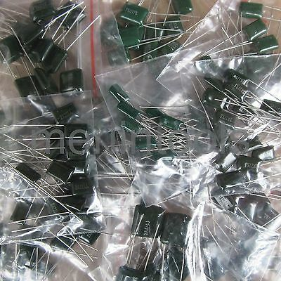 470pcs 30 Values Polyester Film Capacitor Assortment Kit