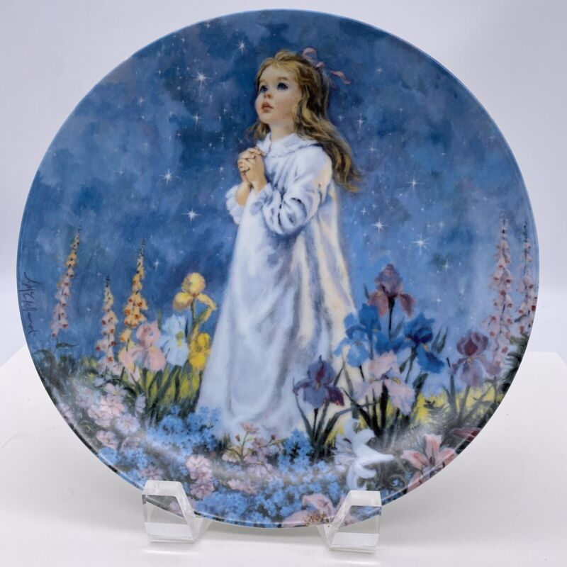 """RECO """"Twinkle Twinkle Little Star"""" Numbered Limited Edition Collector Plate 1988"""