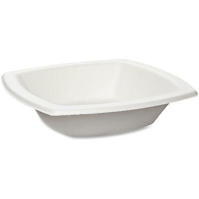 Solo Cup Bare Sugar Cane Bowls 12 oz. 125/PK Off-White 12BSC2050PK