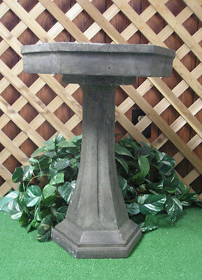 Classical Birdbath Bird Bath Top Bowl Latex Fiberglass Production Mold Concrete