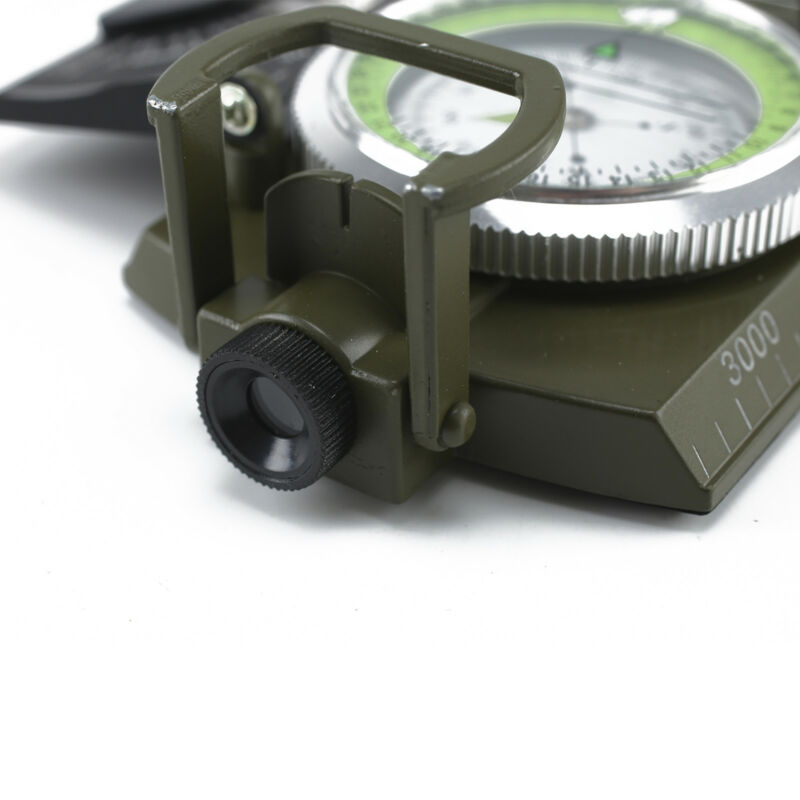 New Professional Military Army Sighting Compass Clinometer Camping Hiking UK