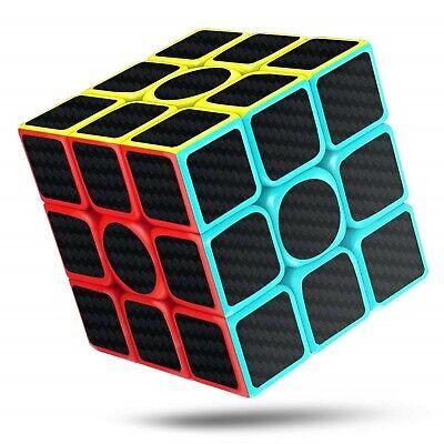 3d Pyramid Puzzle - Speed Magic Cube Set 3x3x3 Carbon Fiber Pyramid 3D Puzzle Cubes Rubix Kids Toy
