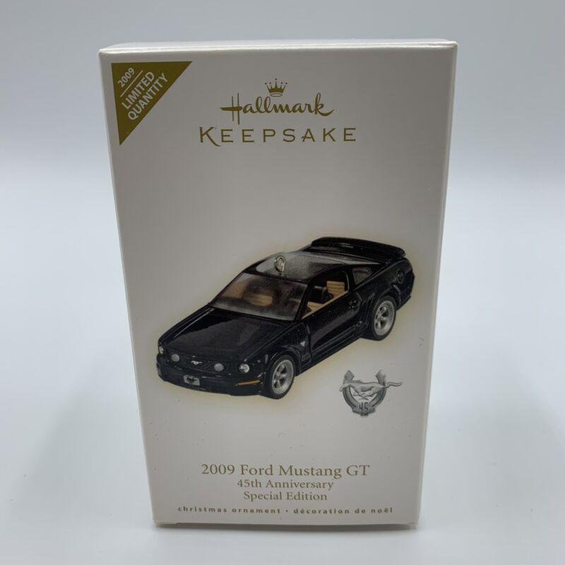 Hallmark Keepsake Ornament - 2009 Ford Mustang GT 45th Anniversary Spec. Edition