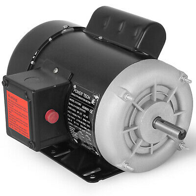 Electric Motor 12 Hp 1750 Rpm 115 Volts56 Frame Single-phase Tefc