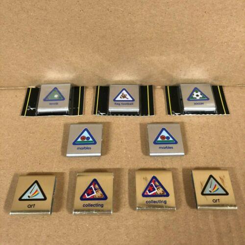 Vintage BSA Boy Scouts of America Official Achievement Belt Slide Loop Lot (9)