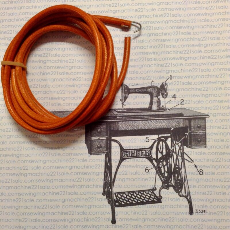 singer sewing machine treadle belt & maintance kit