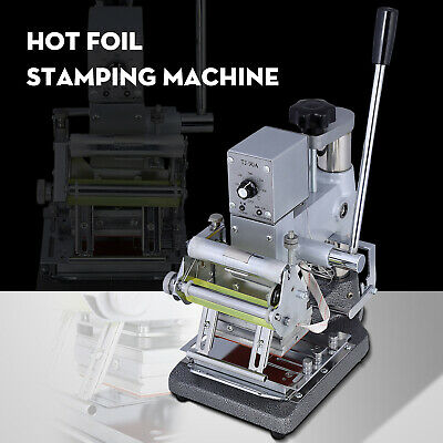 Tipper Hot Foil Stamping Bronzing Logo Printing Machine For Pvc Id Credit Card